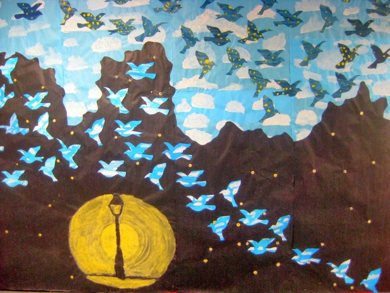 mural magritte